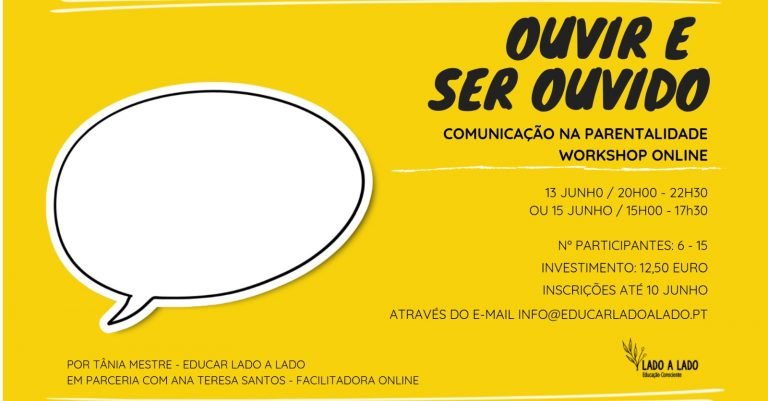 Workshop Online – Ouvir e Ser Ouvido